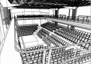 Vizualizace divadla Archa