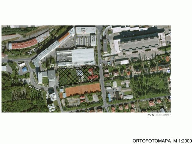 Situace ortofoto