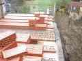 Pokládání stropních keramických vložek