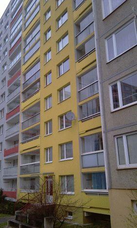 Zateplení západní fasády