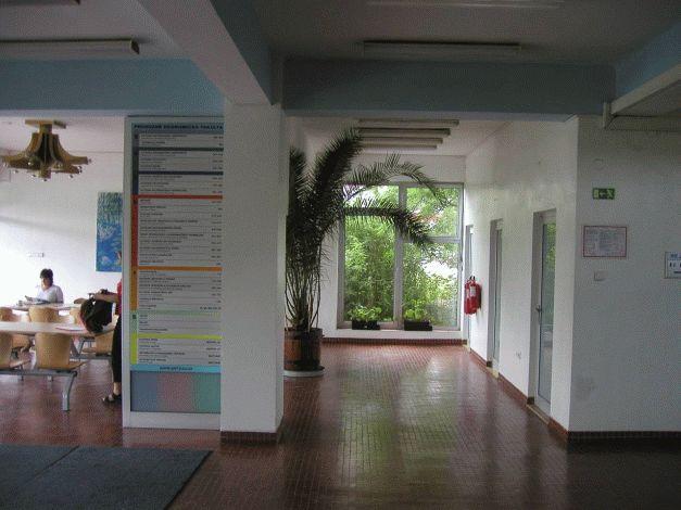 Stávající vestibul