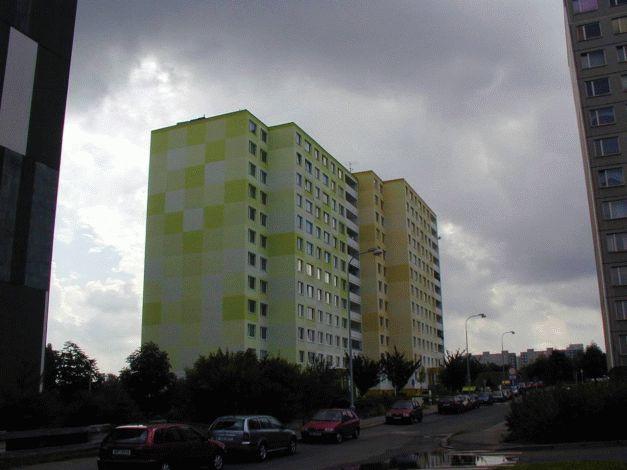 Realizace severní a západní fasády
