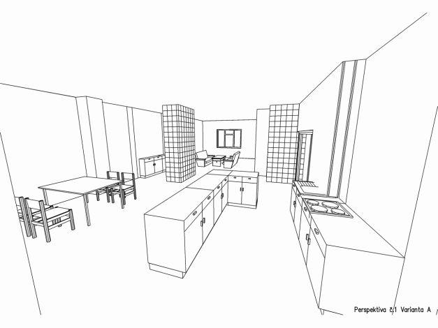 Perspektiva interiéru 01 varianta A