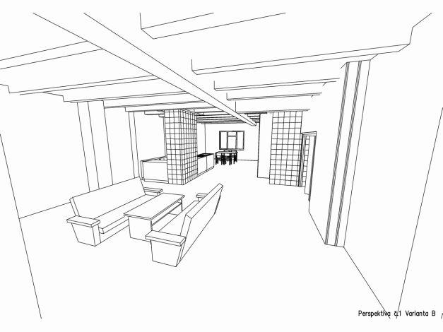 Perspektiva interiéru 01 varianta B