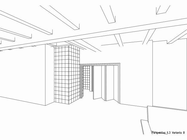 Perspektiva interiéru 03 varianta B