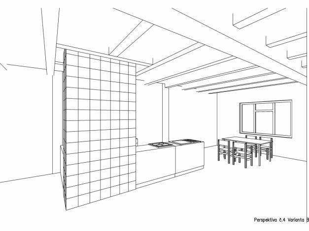 Perspektiva interiéru 04 varianta B