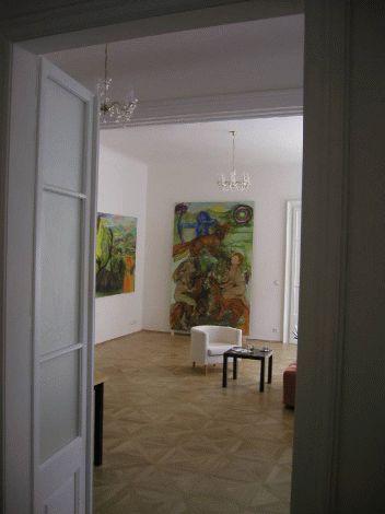 Realizace vstupu do obývacího pokoje