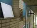 Detail fasády stávající