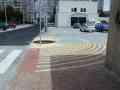 Kolaudace - plocha chodníků