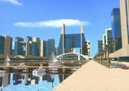 Animace a vizualizace města